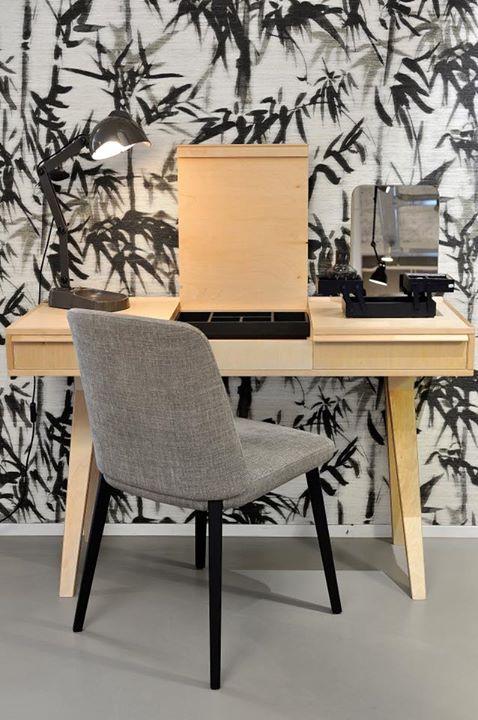 Bureau en bureaustoel