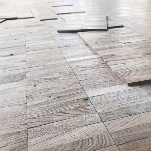 Bovenverdieping nieuwe vloer